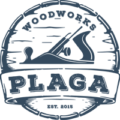 Logo of Plaga Woodworks